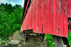 Happy Saturated Saturday! (Phillip Chitwood) Tags: bridge vermont coveredbridge taftville saturatedsaturday