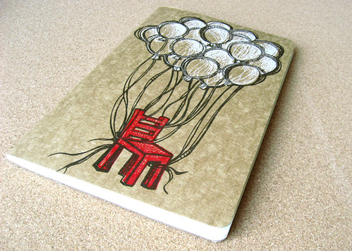 Fly Away L Moleskine