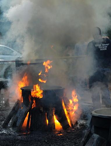 Fish Boil at Boil-Over