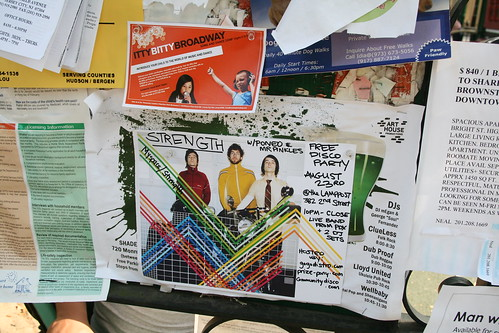 community disco bulletin board