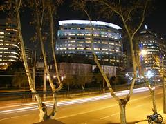 Santiago light trails (Flavio_Camus) Tags: chile city santiago night luces lighttrails nocturno