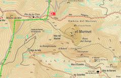 Detall d'un mapa