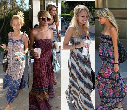 Nicole Ritchie Long Dress