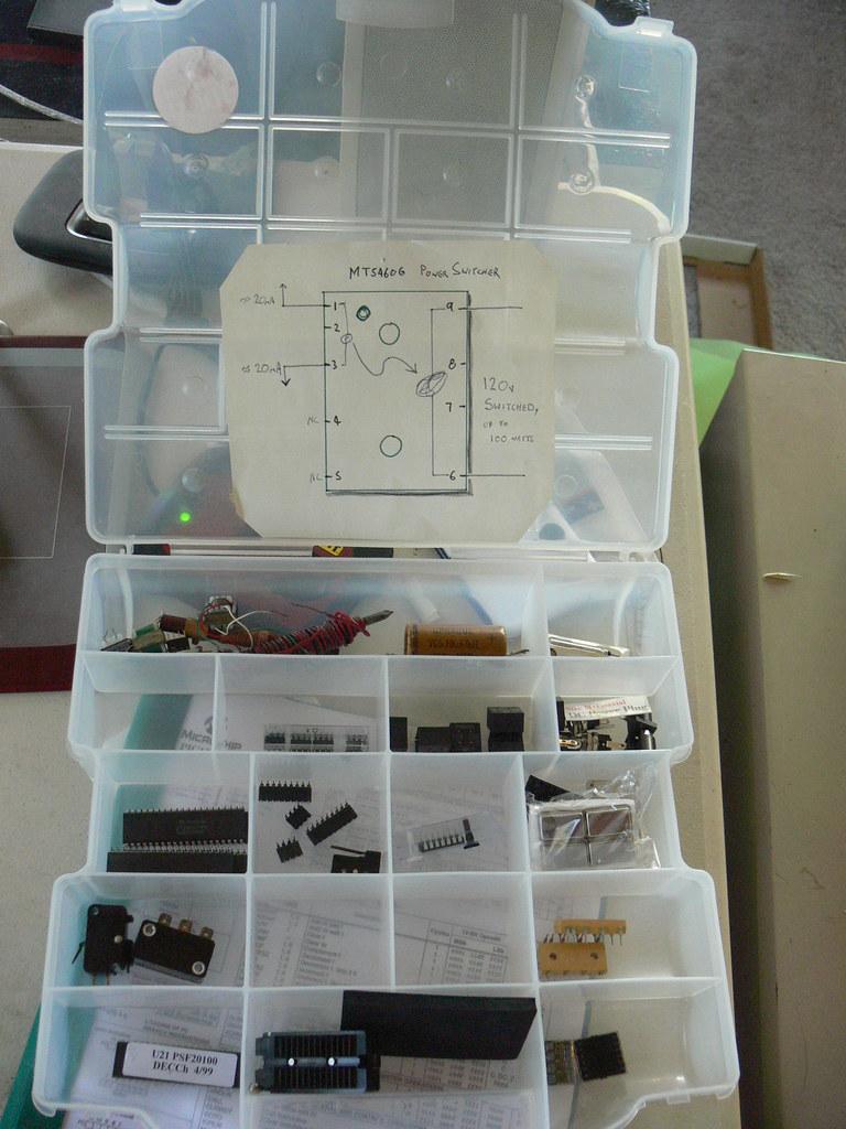 Old box o parts