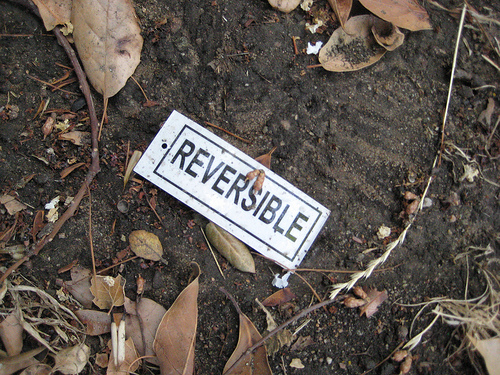 GARBAGE IS REVERSIBLE