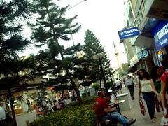 antalya caddelerinden bir görünüm