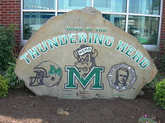 Marshall Thundering Herd Rock