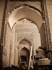 Pell Mell (Mostafa saghari) Tags: trip travel summer vacation me sepia iran islam mosque semnan jame     bastam  pellmell  upcoming:event=916887
