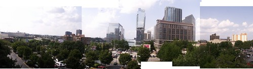 Atlanta Panorama from Days Inn