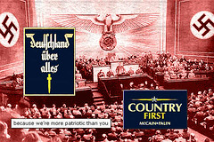 Country First Convention - Germany's GOP (New England Secession) Tags: party germany deutschland nazi hitler patriotic convention patriot republican hypocrite mccain gop rnc palin partisan neocon familyvalues uberalles countryfirst