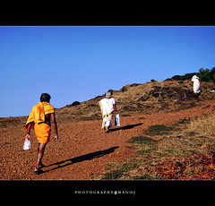 Miles to go!! (Manoj Aswathi's Travel& Photography.) Tags: travel shadow sky people male tourism walking kerala females mookambika hillside karnataka swami pilgrims keralam malabar milestogo godsowncountry kudajadri malayalikkoottam mtv233 mookambikareserveforest climbinghills hillnsky photographymanoj manojphotography