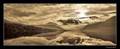 Ullswater. (numanoid69) Tags: lake mountains sepia reflections landscape nationalpark lakedistrict cumbria fells ullswater almostanything betterthangood nikond300 prideofengland