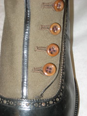 IMG_6721 (shoeobsession) Tags: vintage high shoes boots antique buttons low archive heels slippers brogue detailing canvass