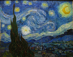 The Starry Night. Saint Rmy, June 1889 (Maulleigh) Tags: new york city art saint june museum modern night vincent moma van gogh vangogh starry 1889 the rmy