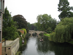 River Cam, Cambridge University