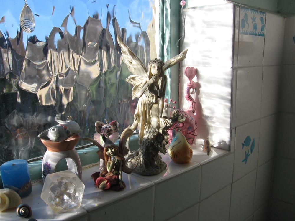 Faery window in my bathroom