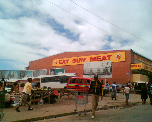 The Eat Sum Meat grocery store