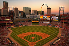 St Louis - Busch Stadium at Sunset