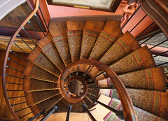 Gustave Moreau Museum -- Spiral Staircase (Rudy A) Tags: travel light paris france wow perfect europe