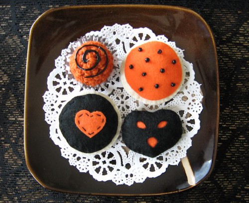 Halloween Tea Cookie Set