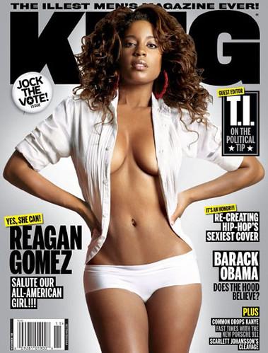reagan gomez king magazine cover