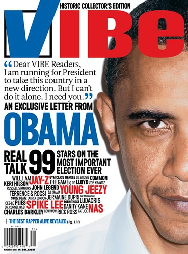 barack obama  vibe magazine cover