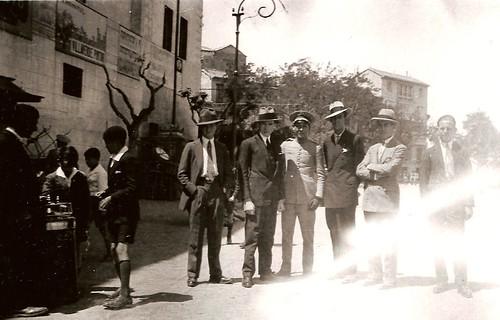 Paseo del Miradero. Años 20. Fotografía de Eduardo Butragueño Bueno