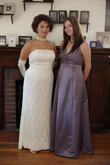 Bride and Maid of Honor (sis)