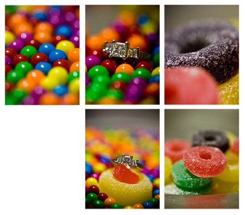 Darbi G PHotography gingerbread home candy bling ring diamond