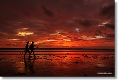 Gado2 Beach,Bali (Helminadia Ranford(New York)) Tags: sunset bali beach thanks indonesia searchthebest maria claudia jessy kuta alot seminyak gado2 ucel