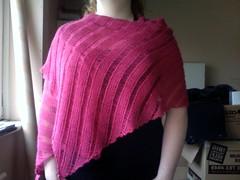 Clapotis as shawl