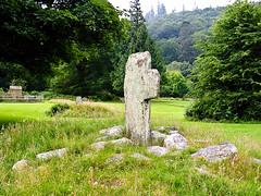 Cross: The Mark of a Druid (Hughesability) Tags: ireland saint st kevin cross glendalough druid stkevin caher flickrchallengegroup flickrchallengewinner monasticcity druidcross thecaher