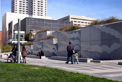Rippling Wall (Paul Dillingham) Tags: yerbabuena