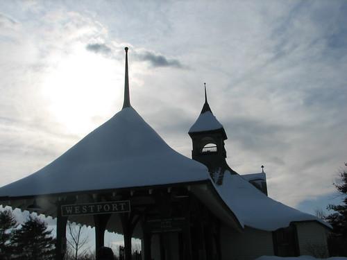 Westport Train Station/ Depot Theatre