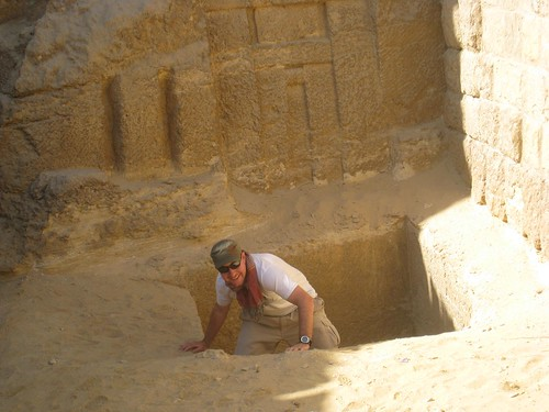 exiting the tomb