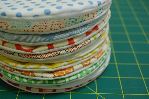 fabric macaroon
