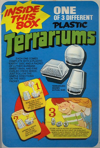 Post Cereal Terrariums - 1975