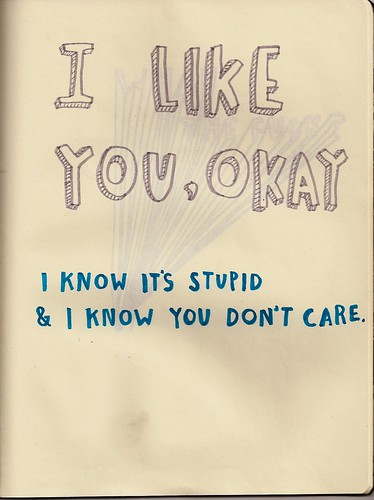 i like you, okay by chelsea dirck