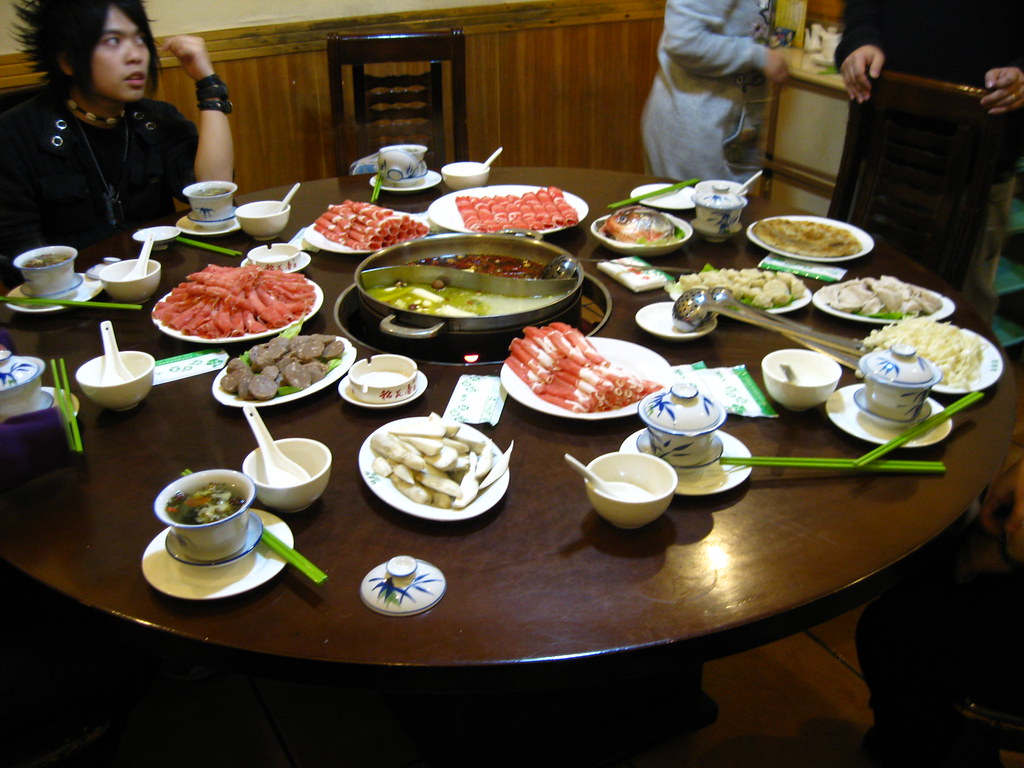 Our spread @ Fei Yang Wang Hot Pot (肥羊王)