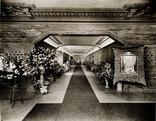 Los Angeles Stock Exchange Building Interior