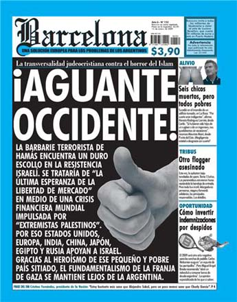 Revista Barcelona - ¡Aguante Occidente!