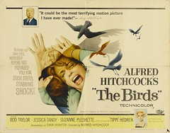 The Birds (1963) Half Sheet Poster (Moviefan1014) Tags: birds taylor rod alfred hitchcock tippi hedren