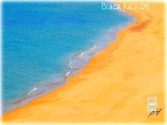 finalmente un p di sole.. (Black Rain) Tags: sardegna blue light sea orange sun water gold golden mare blu giallo pace sole acqua azzurro spiaggia luce waterline paesaggio sabbia dorato bagnasciuga cherryontop mywinners betterthangood