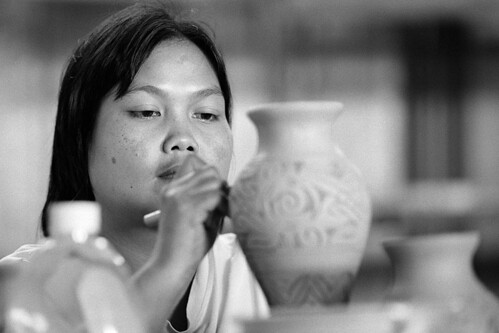 Portrait of a Kuching Potter