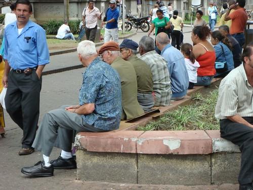 San José street scene...