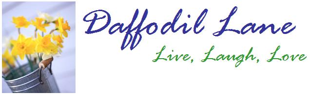 Daffodil Lane Banner