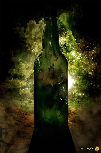 El grito en la botella por Yerson Jair