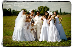 (- Virgonc -) Tags: wedding girls woman girl trash bride countryside nikon women hungary village dress farm side country den farmville brides homestead hay boonies haunt boondocks ttd d300 trashthedress virgonc wwwvirgonccom