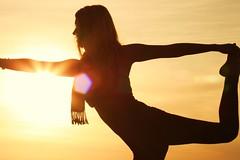 Yoga (TwiggyJane) Tags: sunset woman yoga golden cliffs photoshootwithal