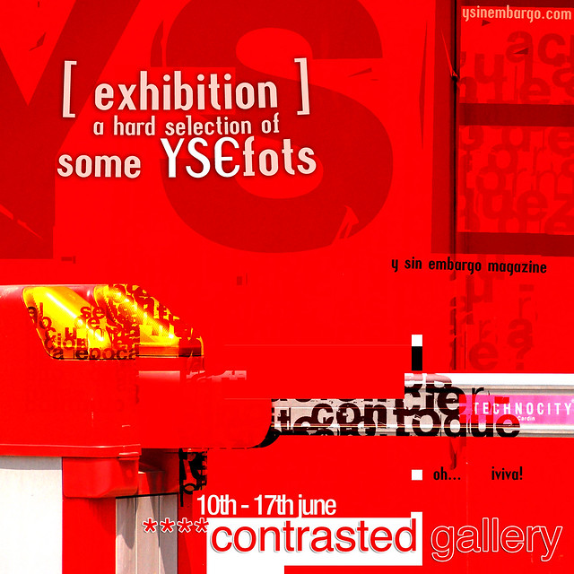 YSExhibition at ****contrasted gallery: a hard selection of some YSEfots